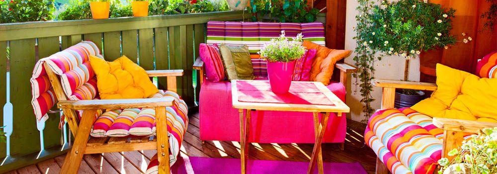 Comment am nager son balcon ou son petit espace vert for Petit salon de jardin balcon