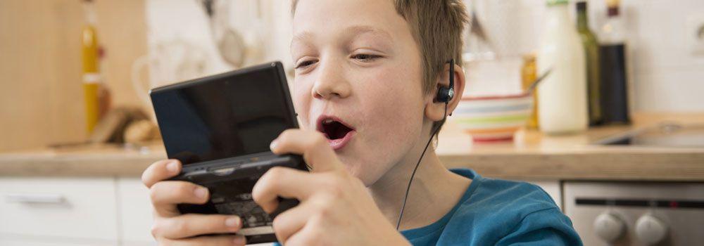 jeux vidéos enfants
