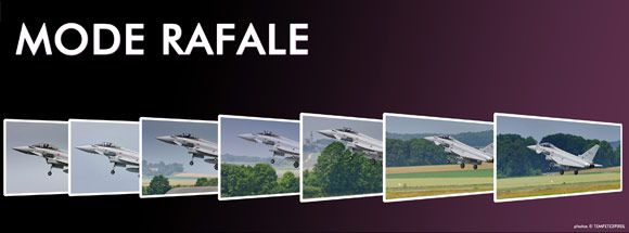 mode rafale
