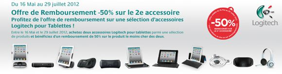 Bandeau ODR access tabelette Logitech