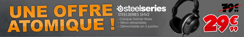 Casques Steelseries