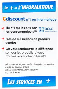 Le + Cdiscount Informatique