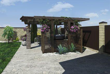 Comment fixer une pergola au sol cdiscount - Comment monter une tonnelle de jardin ...