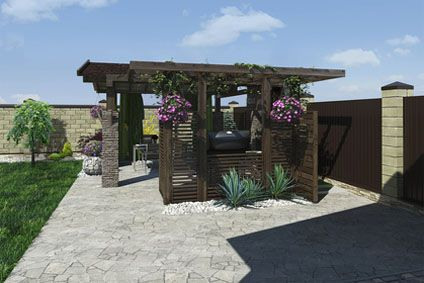 comment fixer une pergola au sol cdiscount. Black Bedroom Furniture Sets. Home Design Ideas